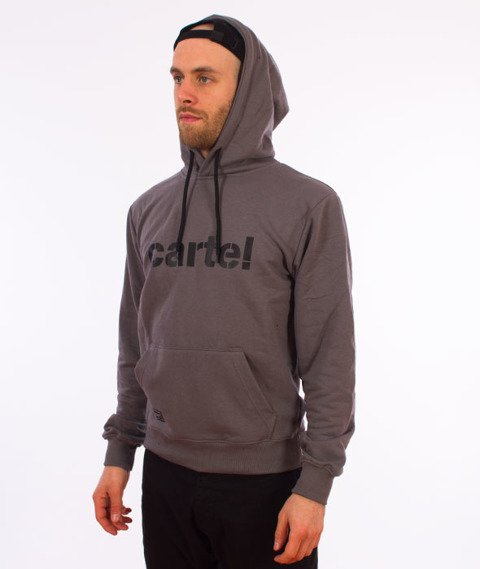 Backyard Cartel-Disaster Hoody Bluza Kaptur Szara