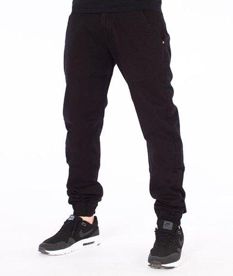 Backyard Cartel-Jogger Chino Spodnie Czarne