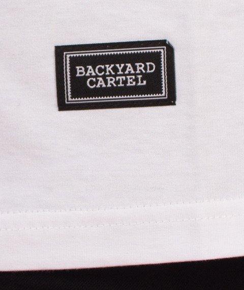 Backyard Cartel-Label Logo T-Shirt Biały