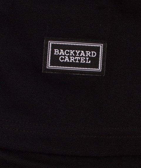 Backyard Cartel-Label Logo T-Shirt Czarne