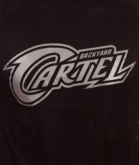 Backyard Cartel-Sweat Sport T-Shirt Czarny