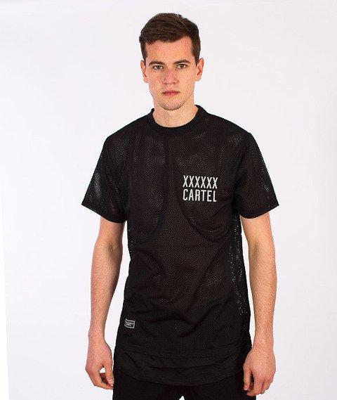 Backyard Cartel-Transition Mesh Long T-Shirt Black