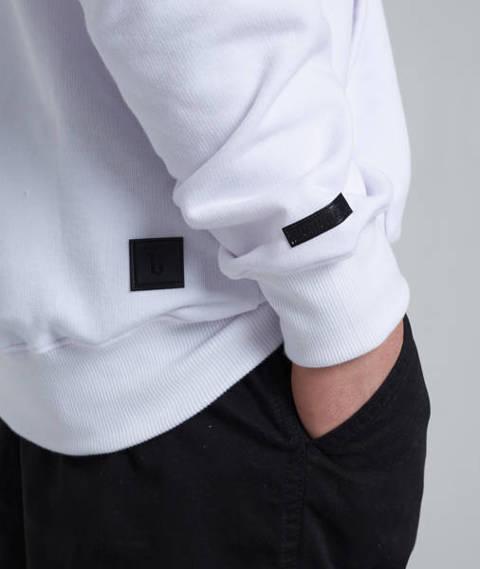 Biuro Ochrony Rapu BASIC Bluza z kapturem Biały