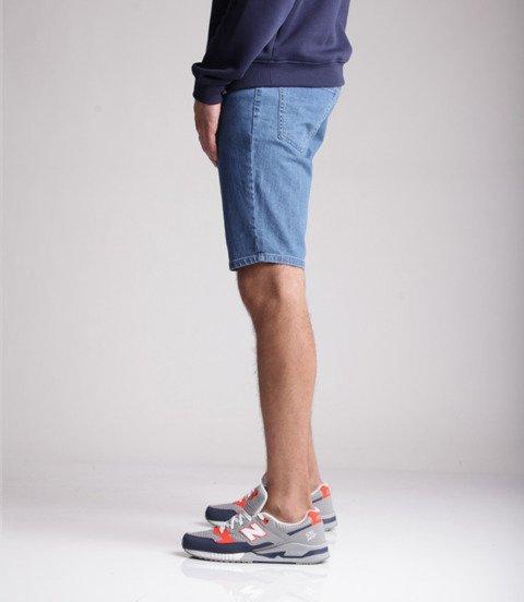 Biuro Ochrony Rapu-Bor New Szorty Krótkie Spodnie Light Jeans