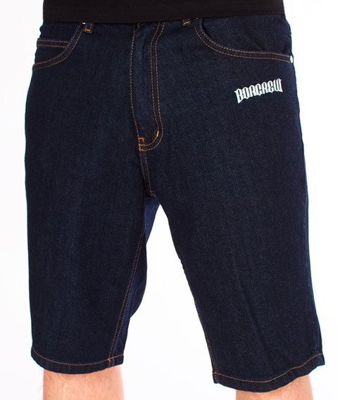 Biuro Ochrony Rapu-Borcrew Szorty Jeans Krótkie Spodnie Dark