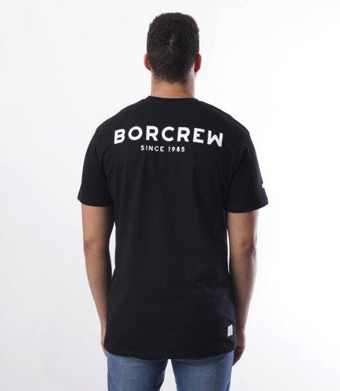 Biuro Ochrony Rapu-Classic Borcrew T-shirt Czarny