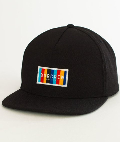 Biuro Ochrony Rapu-Colors Snapback Czarny