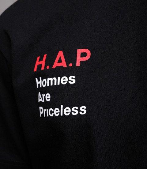 Biuro Ochrony Rapu HAP T-Shirt Czarny