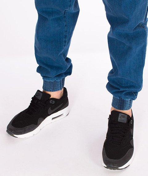 Biuro Ochrony Rapu-Jogger Fit Guma Strecz Spodnie Classic Borcrew Light
