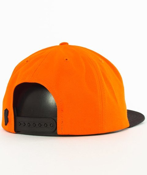 Biuro Ochrony Rapu-New Borcrew Snapback Pomarańczowy