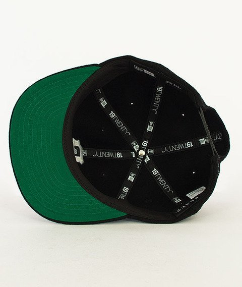Black Scale-Vintage B Logo New Era Snapback Black