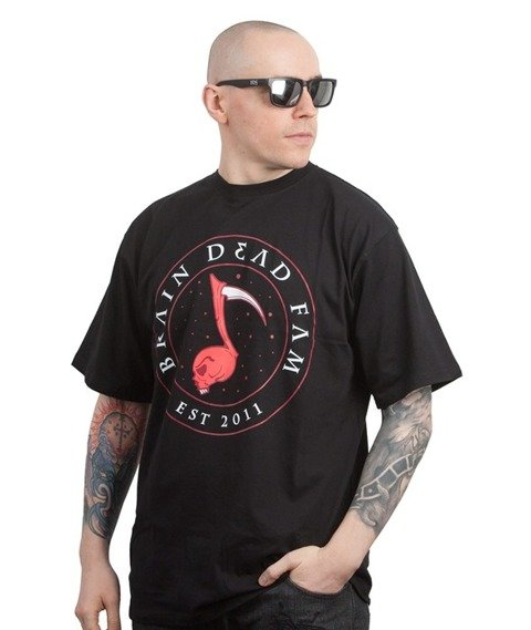 Brain Dead Familia-Note T-shirt Czarny