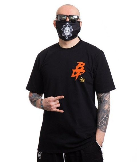 Brain Dead Familia SAMURAI MASK DEVIL T-Shirt Czarny