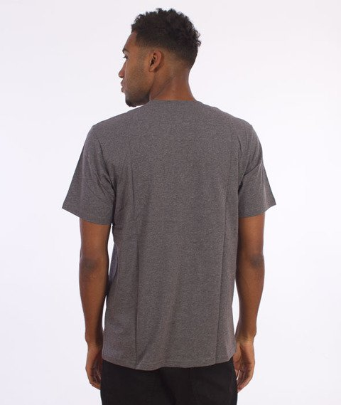Carhartt-Base T-Shirt Dark Grey Heather