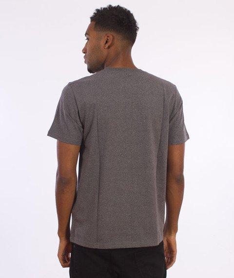 Carhartt- S/S College T-Shirt Dark Grey Heather/White