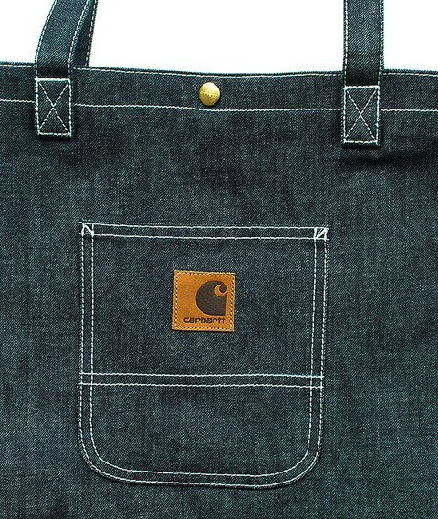 Carhartt-Simple Tote Bag Fowler Denim Blue