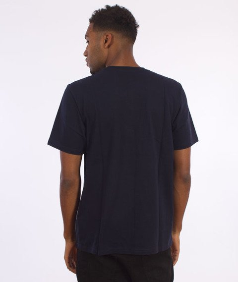 Carhartt-State Logo T-Shirt Navy/Navy