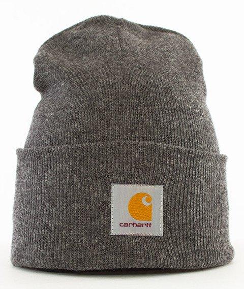 Carhartt WIP-Acrylic Watch Hat Dark Grey Heather