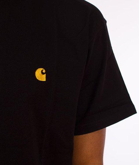 Carhartt WIP-Chase T-Shirt Black/Gold