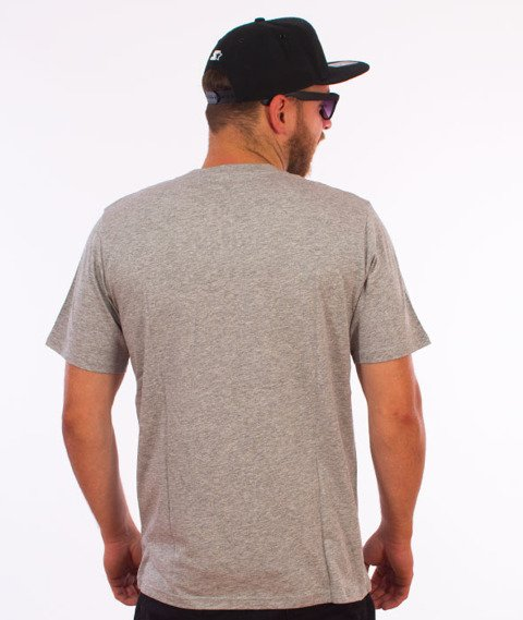 Carhartt WIP-Contrast Pocket T-Shirt Grey Heather/Ash Grey Heather