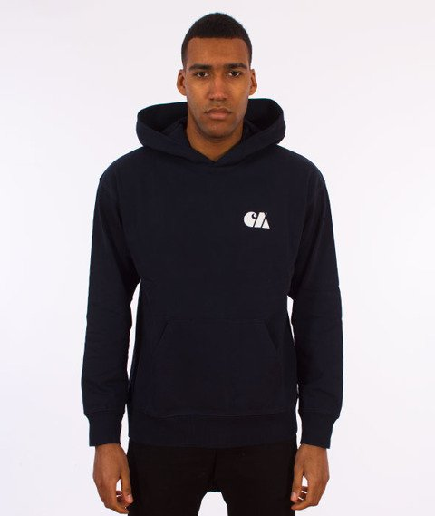 Carhartt WIP-Military Training Hooded Sweat Bluza Kaptur Navy/White