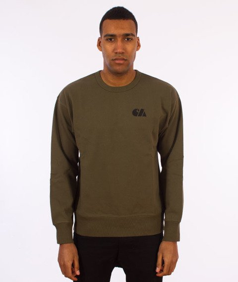 Carhartt WIP-Military Training Sweatshirt Bluza Rover Green/Black