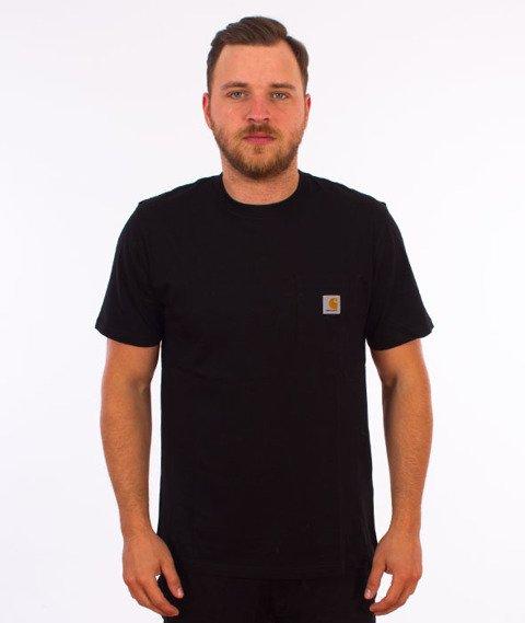 Carhartt WIP-Pocket T-Shirt Black