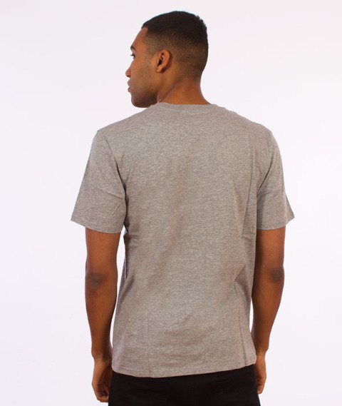 Carhartt WIP-WIP Script T-Shirt Grey Heather/Navy