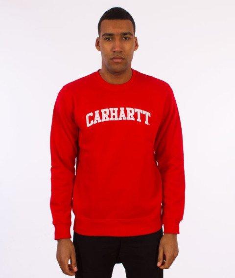 Carhartt WIP-Yale Sweatshirt Bluza Chili/White