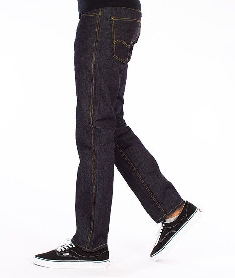 Carhartt-Western Pants Spodnie Blue Rigid Straight Leg L32