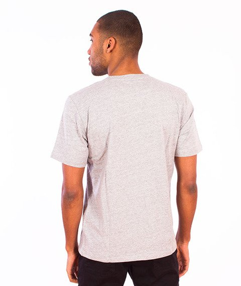 Carhartt-Wip Script T-Shirt  Grey Heather/White