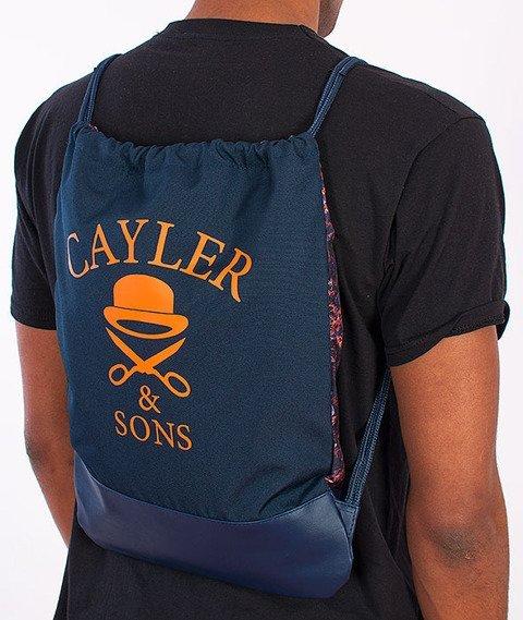 Cayler & Sons-Amsterdam Gym Bag Navy/Multicolor