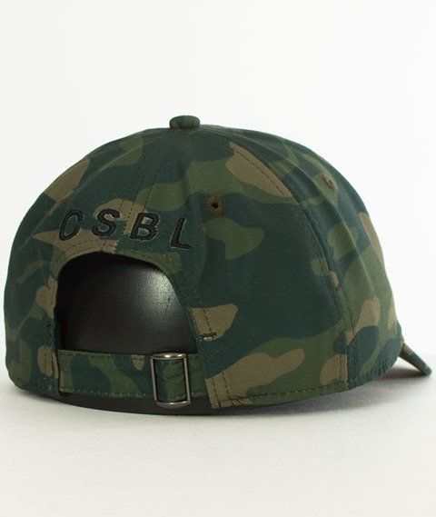 Cayler & Sons-BL Priority Curved Snapback Woodland/White
