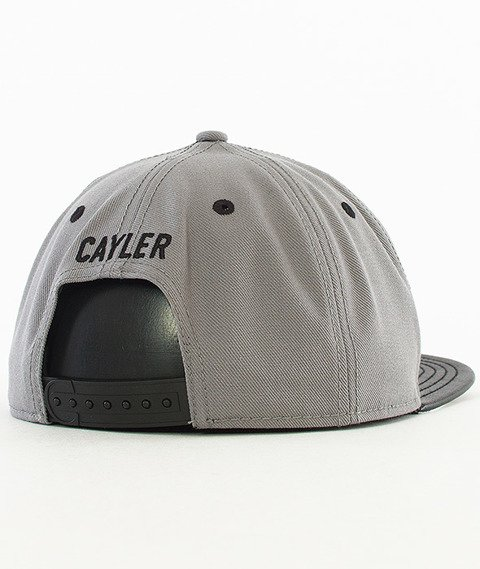 Cayler & Sons-Biggasso Snapback Stone Grey/MC/Black