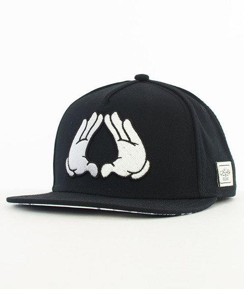 Cayler & Sons-Brooklyn Classic Snapback Black/White