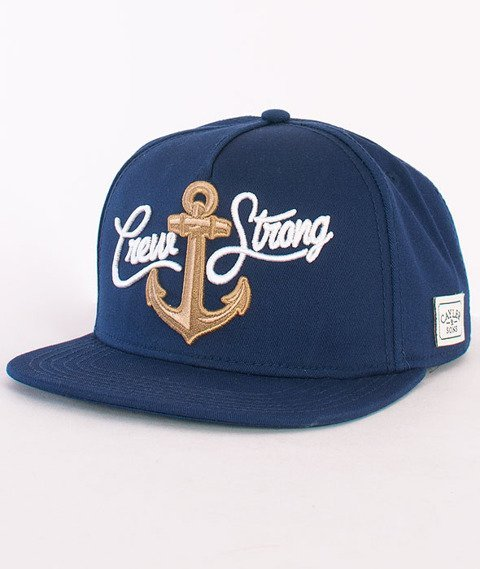 Cayler & Sons-Crew Cap Deep Navy/Gold/White