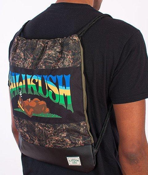 Cayler & Sons-Kushstock Gym Bag Green/Multicolor