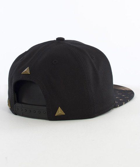 Cayler & Sons-Money Power Respect Cap Snapback Black/Gold/White