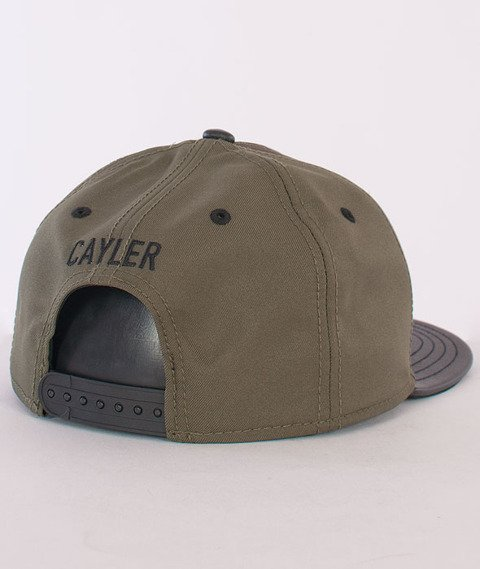 Cayler & Sons-Pacasso Cap Forest Green/Black