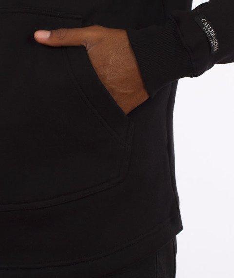 Cayler & Sons-Paiz Curved Hoody Bluza Kaptur Black/Woodland/White