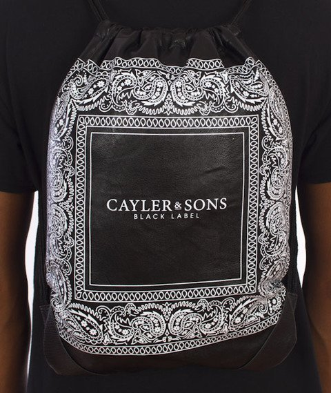 Cayler & Sons-Paiz Gym Bag Black/White