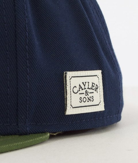 Cayler & Sons-Salute Cap Snapback Navy/Woodland
