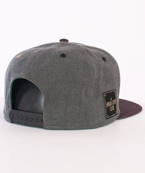 Cayler & Sons-Sticky Icky Cap Grey Heather/Mahogany