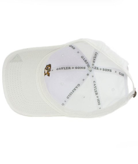 Cayler & Sons-WL Dab Mondays Curved Strapback White