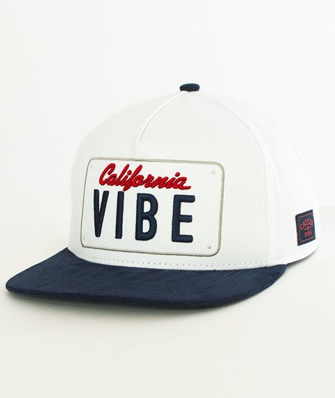 Cayler & Sons-WL Plated Snapback White/Navy