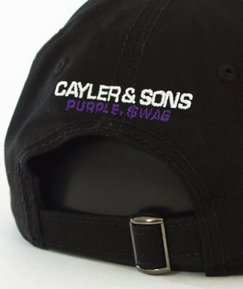 Cayler & Sons-WL Purple Swag Curved Black
