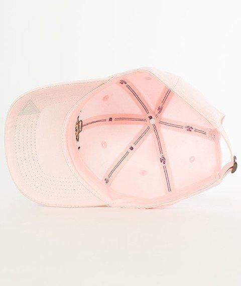 Cayler & Sons-WL Styro Curved Snapback Pale Pink/MC