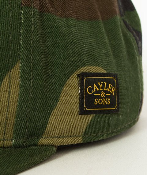 Cayler & Sons-WL Turn Up Snapback Woodland/Mc