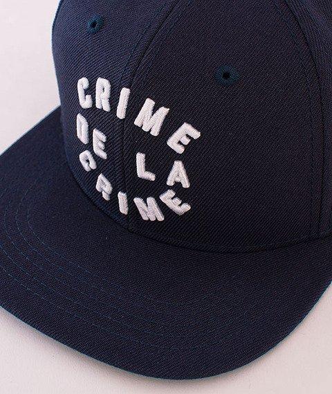 Crooks & Castles-Crime De La Crime Snapback Navy
