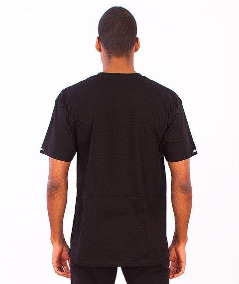 Crooks & Castles-Medusa Speckle Tiger T-Shirt Black